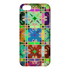 Abstract Pattern Background Design Apple Iphone 5c Hardshell Case