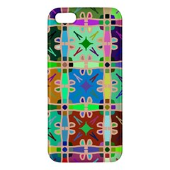 Abstract Pattern Background Design Iphone 5s/ Se Premium Hardshell Case