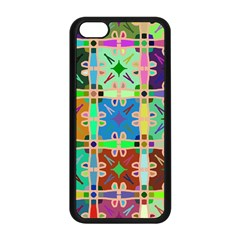 Abstract Pattern Background Design Apple Iphone 5c Seamless Case (black)