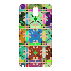 Abstract Pattern Background Design Samsung Galaxy Note 3 N9005 Hardshell Back Case