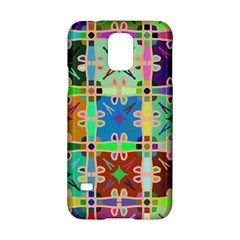 Abstract Pattern Background Design Samsung Galaxy S5 Hardshell Case