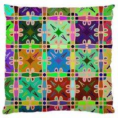 Abstract Pattern Background Design Standard Flano Cushion Case (two Sides)