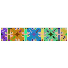 Abstract Pattern Background Design Flano Scarf (small)