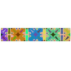 Abstract Pattern Background Design Flano Scarf (large)