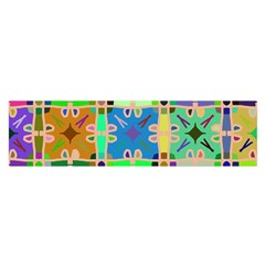 Abstract Pattern Background Design Satin Scarf (oblong)