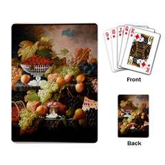 Abundance Of Fruit Severin Roesen Playing Card