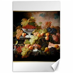 Abundance Of Fruit Severin Roesen Canvas 24  X 36