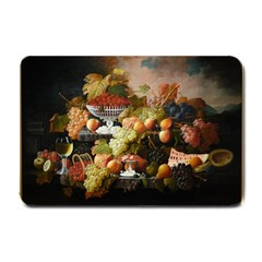 Abundance Of Fruit Severin Roesen Small Doormat