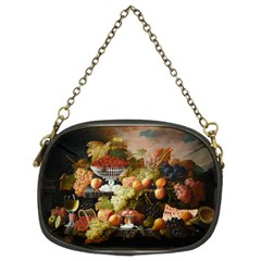Abundance Of Fruit Severin Roesen Chain Purses (two Sides)
