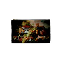 Abundance Of Fruit Severin Roesen Cosmetic Bag (small)