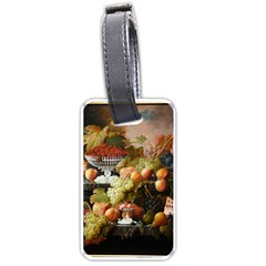 Abundance Of Fruit Severin Roesen Luggage Tags (one Side)