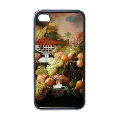 Abundance Of Fruit Severin Roesen Apple Iphone 4 Case (black)