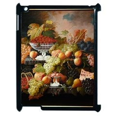 Abundance Of Fruit Severin Roesen Apple Ipad 2 Case (black)