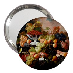 Abundance Of Fruit Severin Roesen 3  Handbag Mirrors