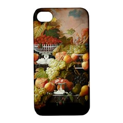 Abundance Of Fruit Severin Roesen Apple Iphone 4/4s Hardshell Case With Stand