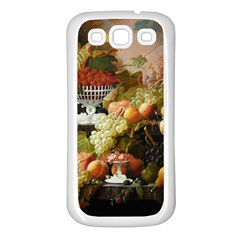 Abundance Of Fruit Severin Roesen Samsung Galaxy S3 Back Case (white)