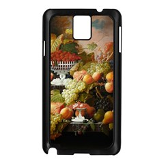 Abundance Of Fruit Severin Roesen Samsung Galaxy Note 3 N9005 Case (black)