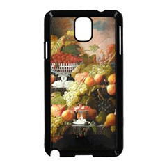 Abundance Of Fruit Severin Roesen Samsung Galaxy Note 3 Neo Hardshell Case (black)