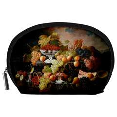 Abundance Of Fruit Severin Roesen Accessory Pouches (large)