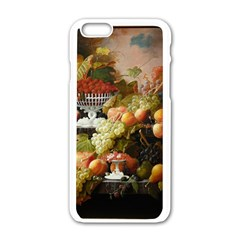 Abundance Of Fruit Severin Roesen Apple Iphone 6/6s White Enamel Case