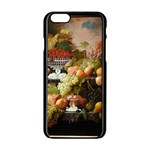 Abundance Of Fruit Severin Roesen Apple iPhone 6/6S Black Enamel Case Front