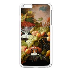 Abundance Of Fruit Severin Roesen Apple Iphone 6 Plus/6s Plus Enamel White Case
