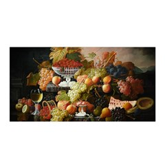 Abundance Of Fruit Severin Roesen Satin Wrap