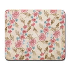 Background Page Template Floral Large Mousepads
