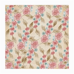 Background Page Template Floral Medium Glasses Cloth (2 Side)