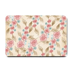 Background Page Template Floral Small Doormat