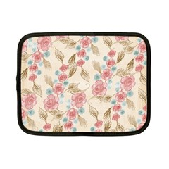 Background Page Template Floral Netbook Case (small)