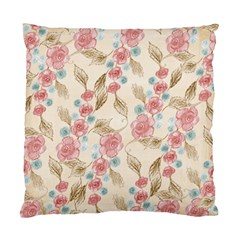 Background Page Template Floral Standard Cushion Case (two Sides)