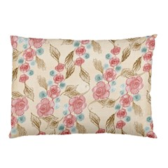 Background Page Template Floral Pillow Case