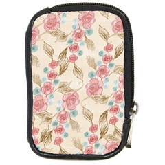 Background Page Template Floral Compact Camera Cases
