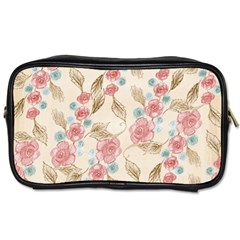 Background Page Template Floral Toiletries Bags 2 Side
