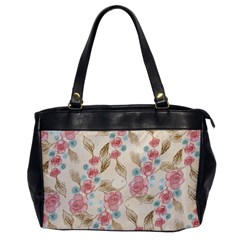 Background Page Template Floral Office Handbags
