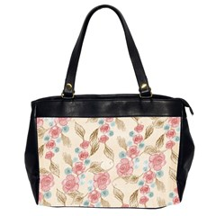 Background Page Template Floral Office Handbags (2 Sides)