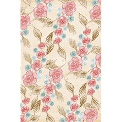 Background Page Template Floral 5.5  x 8.5  Notebooks