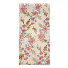 Background Page Template Floral Shower Curtain 36  X 72  (stall)