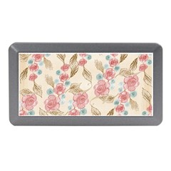 Background Page Template Floral Memory Card Reader (mini)