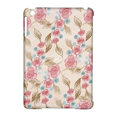 Background Page Template Floral Apple Ipad Mini Hardshell Case (compatible With Smart Cover)