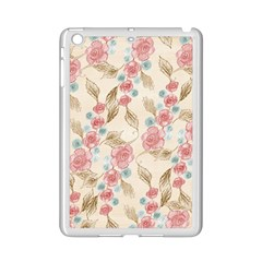 Background Page Template Floral Ipad Mini 2 Enamel Coated Cases