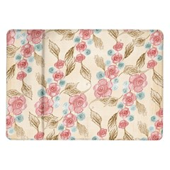 Background Page Template Floral Samsung Galaxy Tab 10.1  P7500 Flip Case