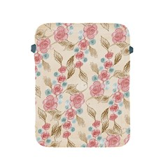 Background Page Template Floral Apple Ipad 2/3/4 Protective Soft Cases