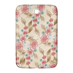 Background Page Template Floral Samsung Galaxy Note 8 0 N5100 Hardshell Case