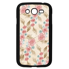 Background Page Template Floral Samsung Galaxy Grand Duos I9082 Case (black)
