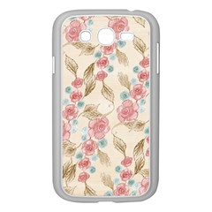 Background Page Template Floral Samsung Galaxy Grand Duos I9082 Case (white)