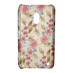 Background Page Template Floral Nokia Lumia 620