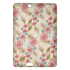 Background Page Template Floral Amazon Kindle Fire Hd (2013) Hardshell Case