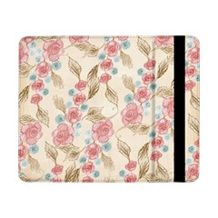 Background Page Template Floral Samsung Galaxy Tab Pro 8 4  Flip Case